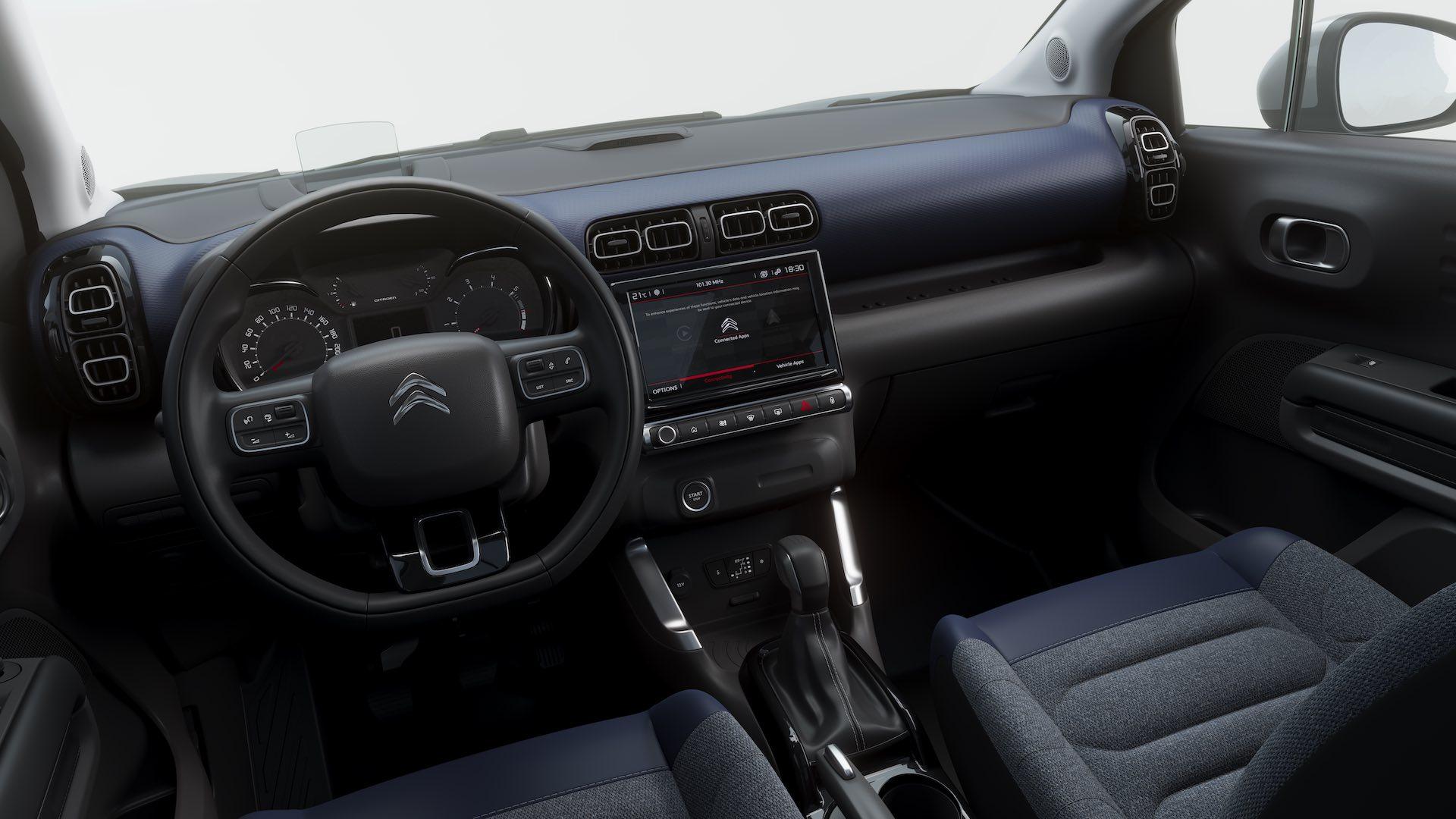 Foto Interni Citroen C3 Aircross 2021