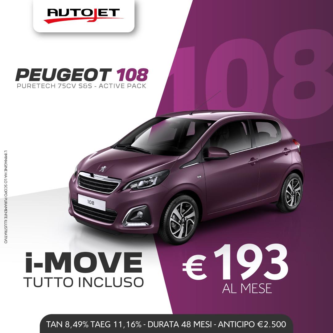 Promozioni Peugeot 108 Peugeot Ciriè