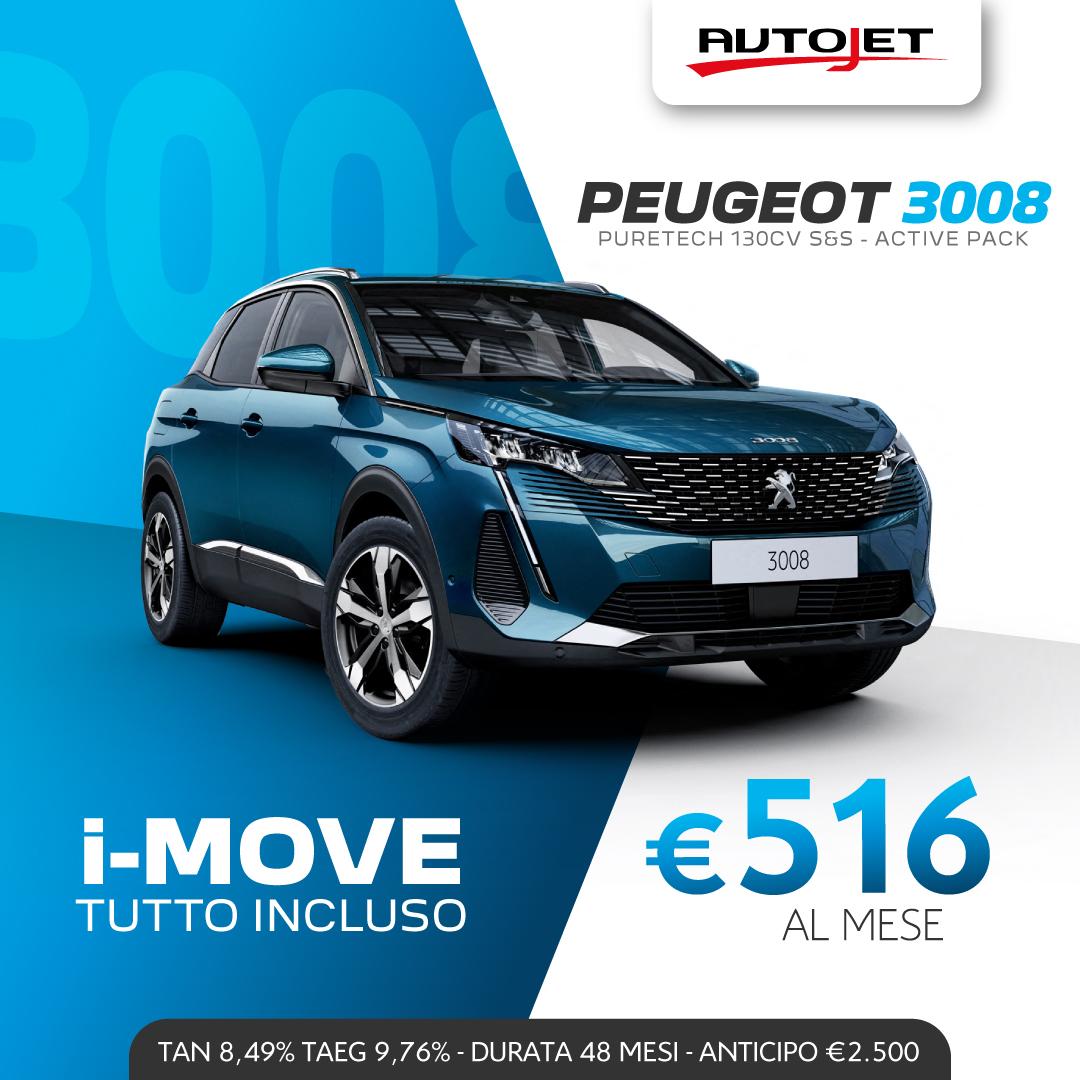 Promozioni Peugeot 3008 Peugeot Ciriè